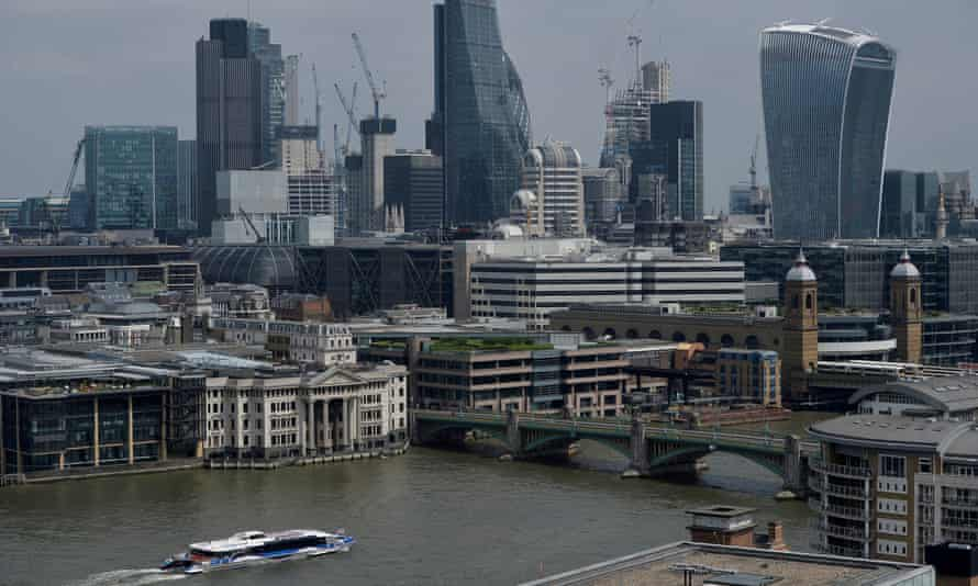 city of London and Thames