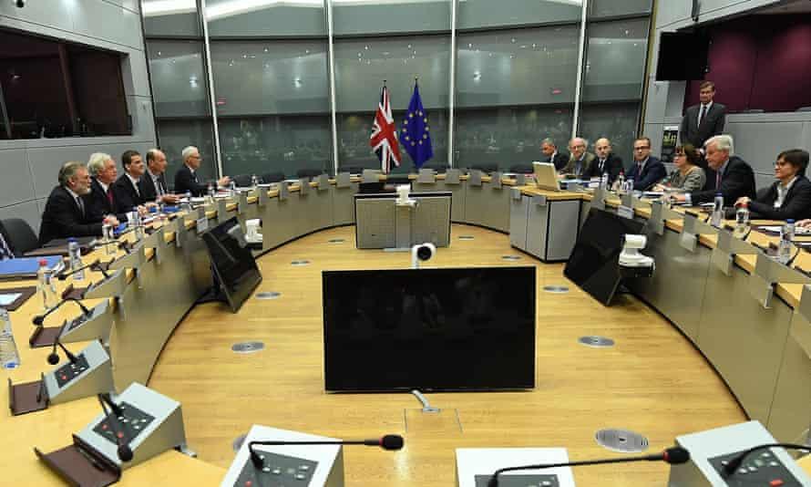 UK and EU negotiating teams
