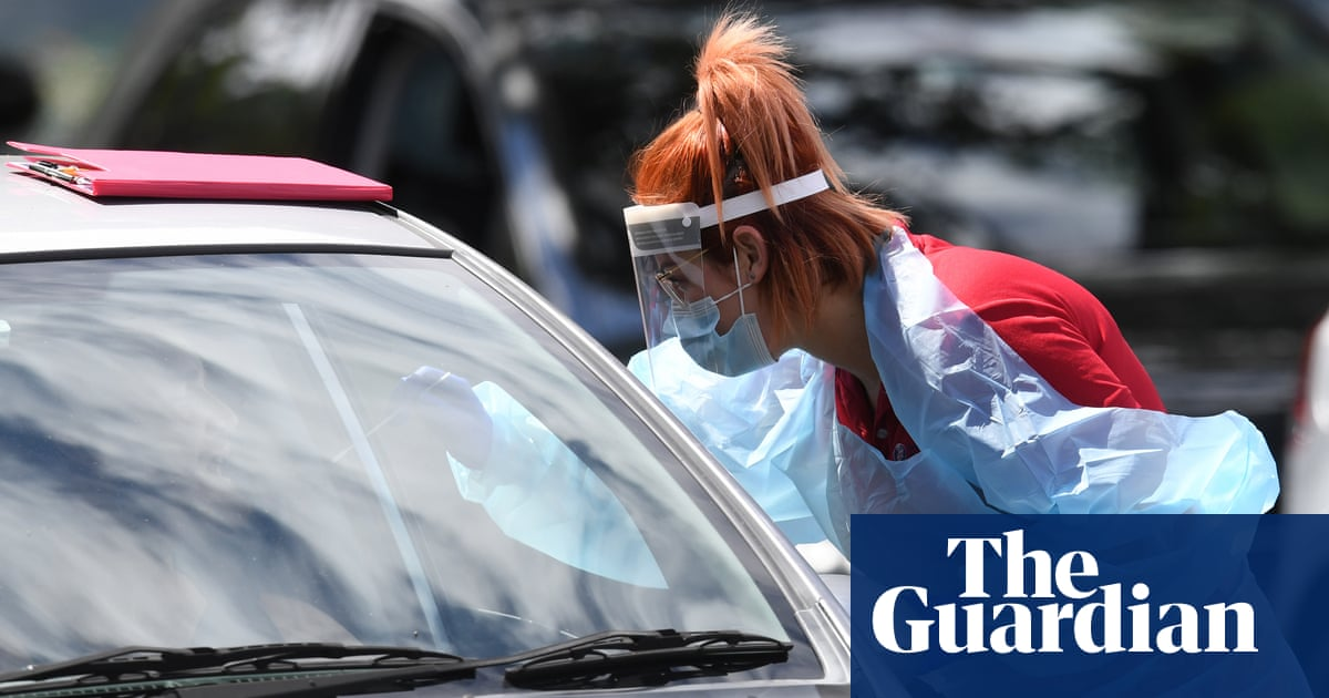 Queensland and NSW on alert after traveller who left Melbourne lockdown tests positive for Covid