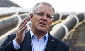 Scott Morrison will show his support for Tasmania's 'battery of the nation' proposal a day after he confirmed funding for Snowy 2.0