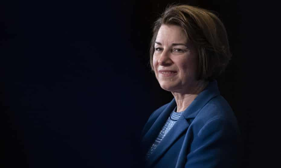 Amy Klobuchar: 'I have got to get my name ID up. Here in Iowa I have been doubling my support, we are surging, and we have had some good polls in New Hampshire.'