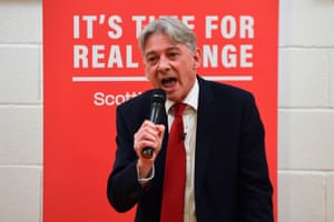 Scottish Labour leader Richard Leonard at an event last week.