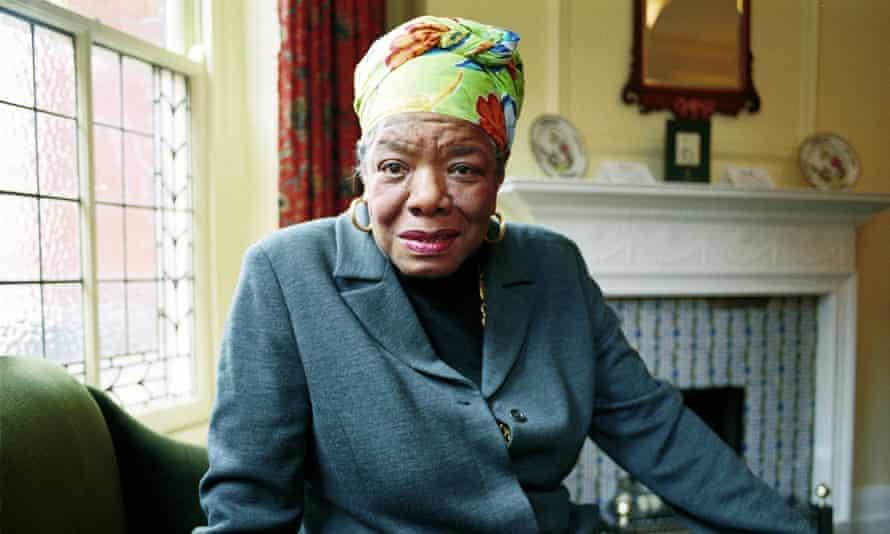 Maya Angelou, in 1999.