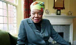 'She identified with Burns deeply. As she talked, the night descended and the drone of insects filled the air': Maya Angelou.