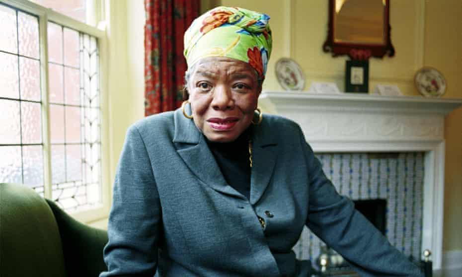 Maya Angelou in 1999.
