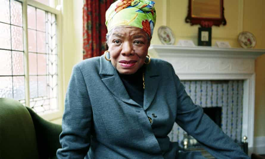 Writer Maya Angelou found refuge in music. 'I could crawl in to the space between the notes and curl my back to loneliness.'