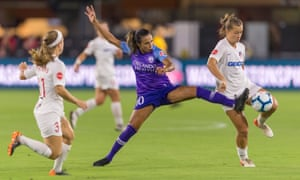 Brazil star Marta is one of Orlando Pride's best-known players