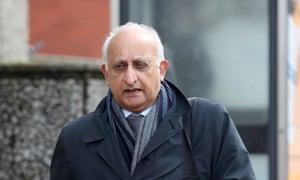 Ajaz Karim arrives at court