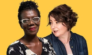 Jane Garvey and BBC Radio Sheffield's Paulette Edwards: 'a beaming smile and a wry grin.'