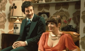 Alison Steadman and Tim Stern in Abigail's Party.