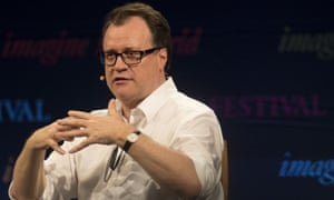 Russell T Davies at Hay festival