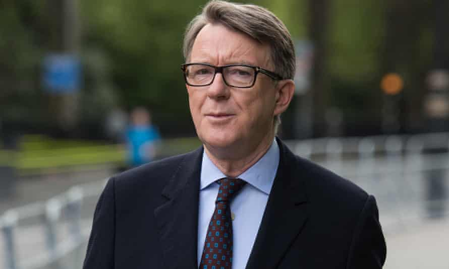 Peter Mandelson has said Labour 'cannot be elected with Corbyn as leader'.