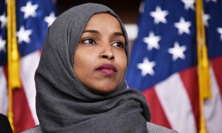Ilhan Omar, seen in November.