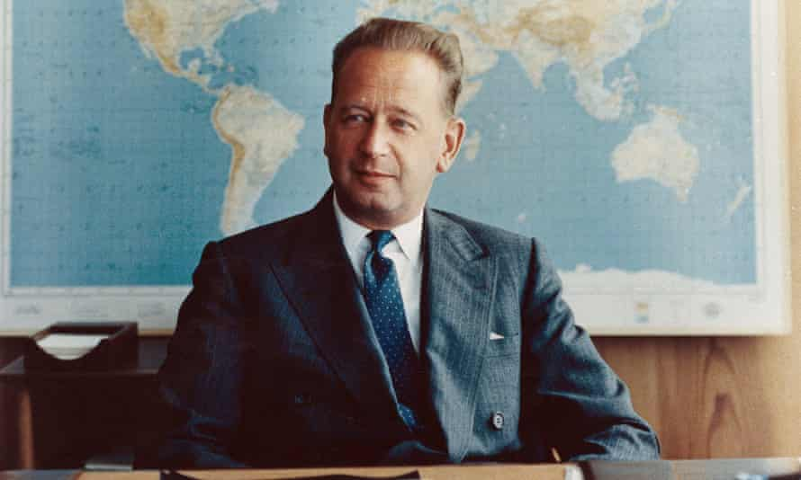Dag Hammarskjöld was on a mission to try to broker peace in Congo when he died in 1961.