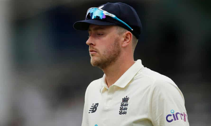England's Ollie Robinson said he was embarrassed and ashamed of the offensive tweets he made between 2012 and 2014