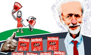 Illustration of Jeremy Corbyn
