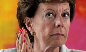 Neelie Kroes now sits on the public policy board of Uber.