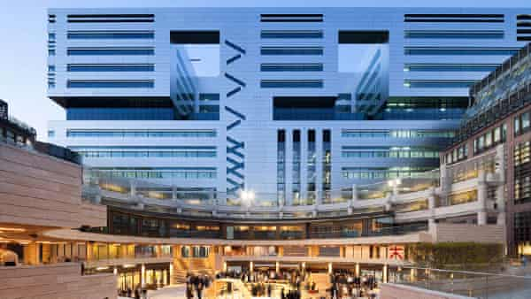 5 Broadgate, another project by St Michael's architects Make.