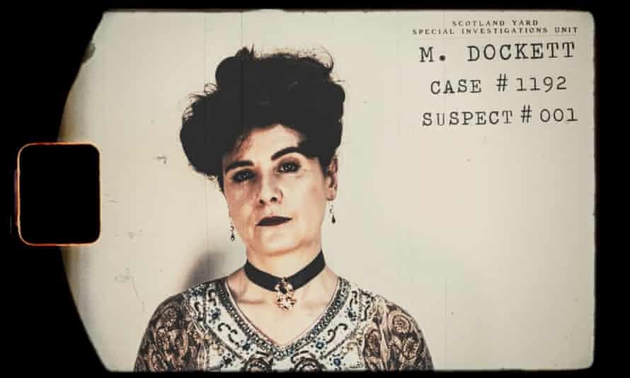 a glimpse into Scotland Yard's suspect files.