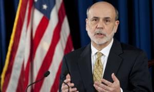 Ben Bernanke, former chairman of the Federal Reserve