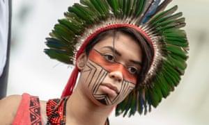 Brazilian Amazonian Indigenous leader Artemisa Xakriaba