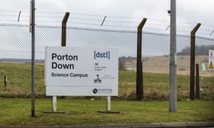 The defence science and technology laboratory at Porton Down.