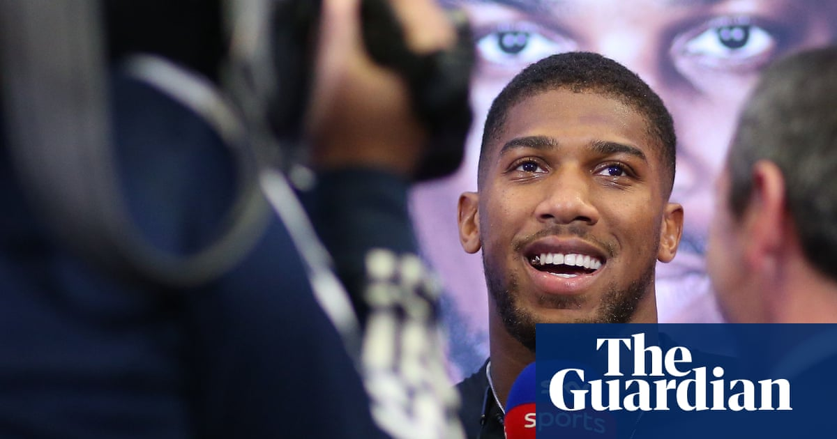 Amnesty says Anthony Joshua is being duped over Saudi Arabia fight