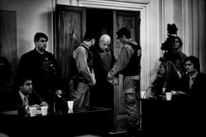 Christian Federico von Wernich, an Argentine Roman Catholic priest and a former chaplain of the Buenos Aires Province Police – he was sentenced to life imprisonment in October 2007