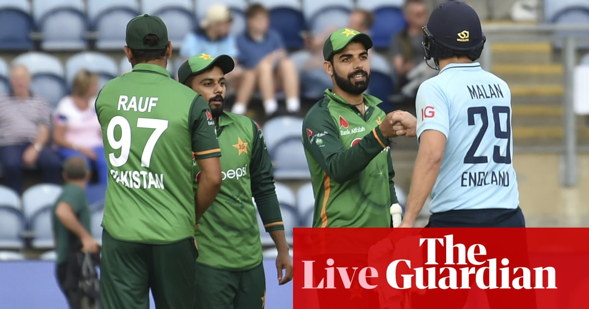England v Pakistan: second ODI – live!