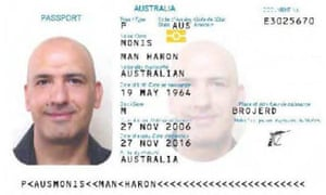 Man Haron Monis's passport. Why Monis travelled to Australia from Iran in 1996 remains a mystery, as does so much of his secret life.