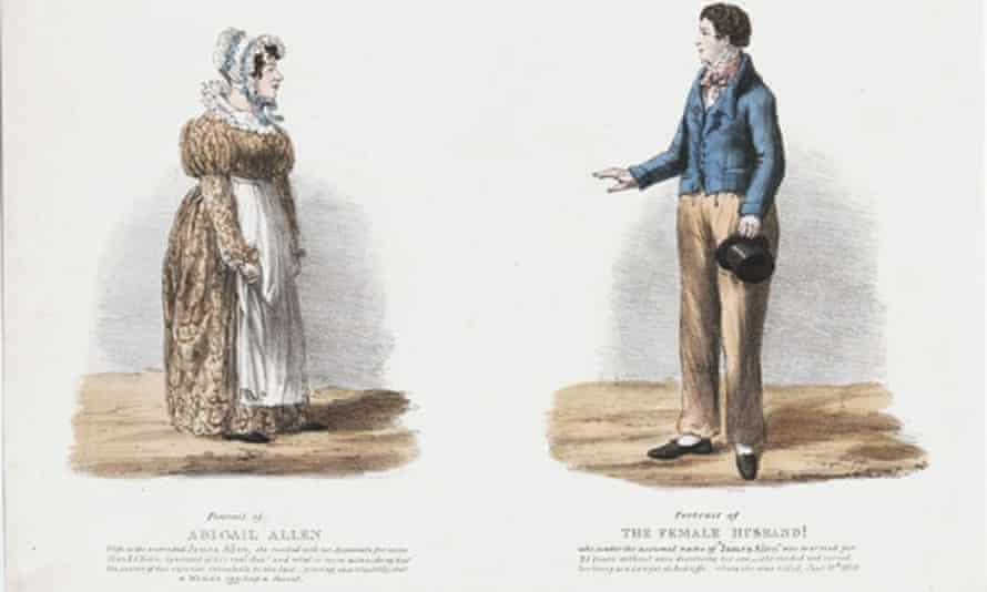 Portrait of Abigail Allen, a so-called 'female husband'.