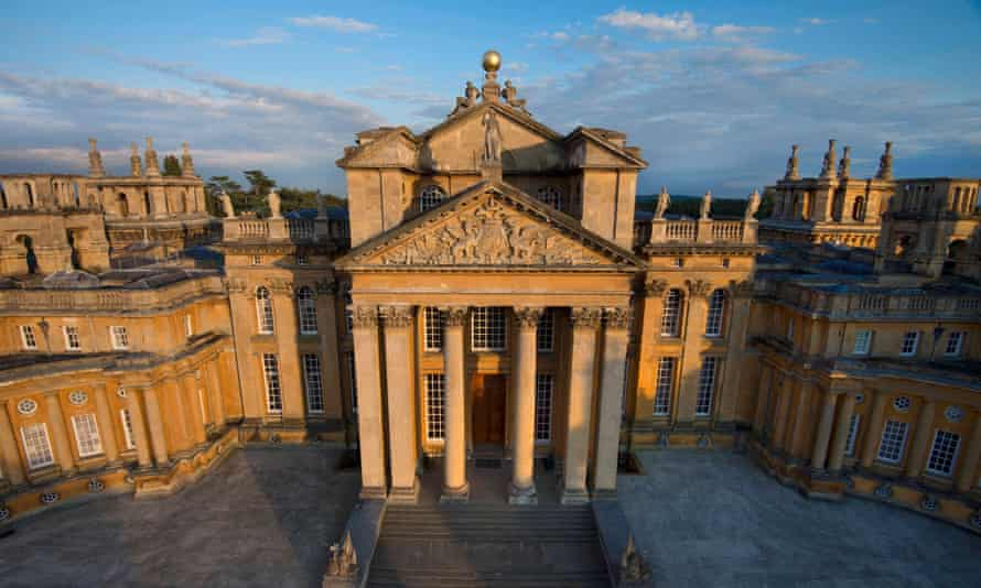 Blenheim Palace, where Michelangelo Pistoletto will be exhibiting his work from September.
