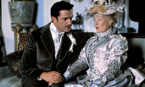 Rupert Everett as Algernon and Judi Dench as Lady Bracknell in the 2002 film The Importance of Being Earnest, directed by Oliver Parker.