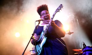 Brittany Howard of Alabama Shakes performs