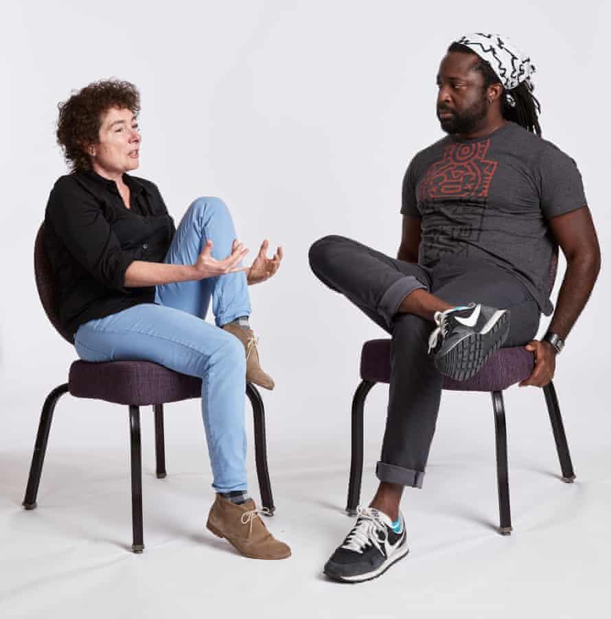 Jeanette Winterson and Marlon James