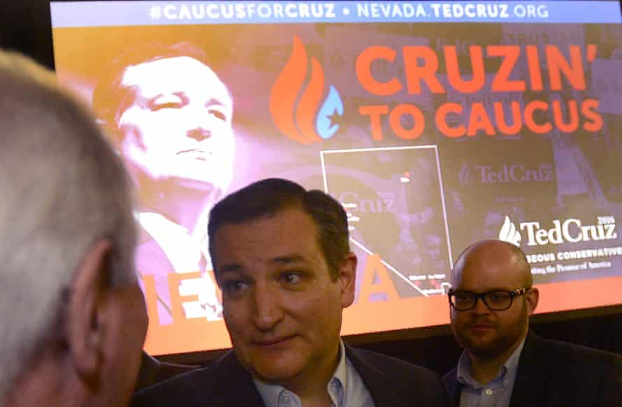 Ted Cruz stressed he was the only candidate to knock Donald Trump off his perch.