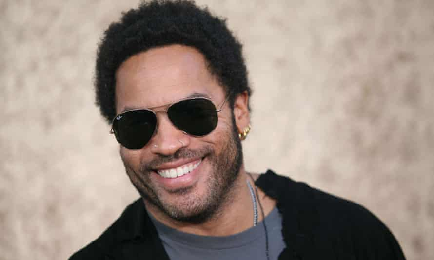 Lenny Kravitz … Wants others to have teeth like that.