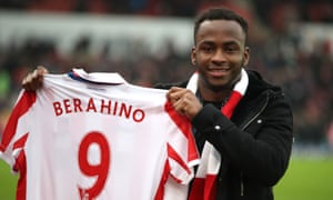Saido Berahino was Stoke's only major signing in January.