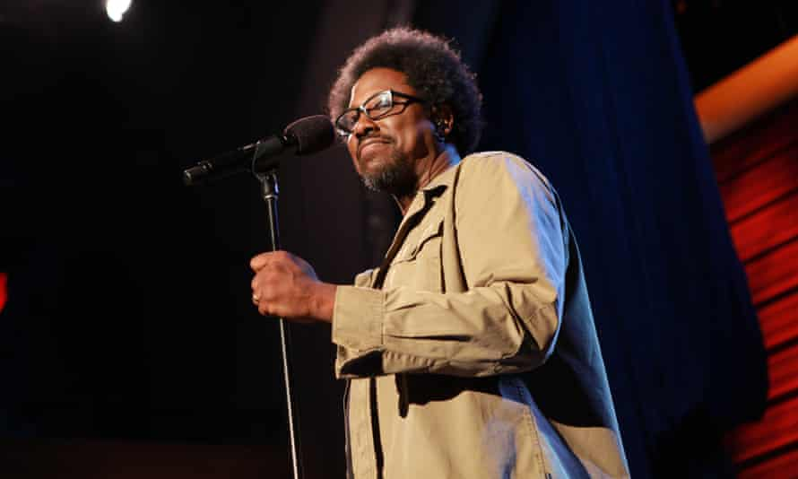 'If peace dawns and reigns all over the world, I'll be happy to get a job at Starbucks' ... W. Kamau Bell.