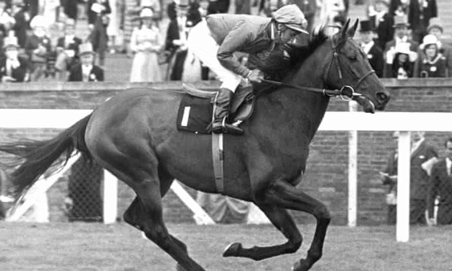 Joe Mercer riding Brigadier Gerard at Royal Ascot in 1972. He was indisputably the finest horse that Mercer rode.