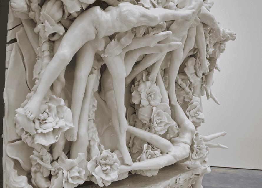 Unholy … 399 Days (detail) by Rachel Kneebone.