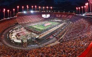 Tennessee v Virginia Tech at Bristol Motor Speedway