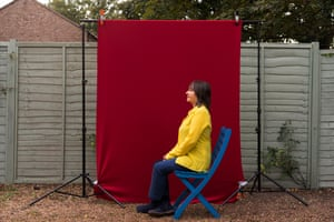 Writer Ali Smith photographed at her home in Cambridge