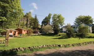 Gulabin Lodge with lawns