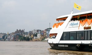 Nordi Cruiseline is due to start sunrise and sunset tours along the Ganges' ghats in September.