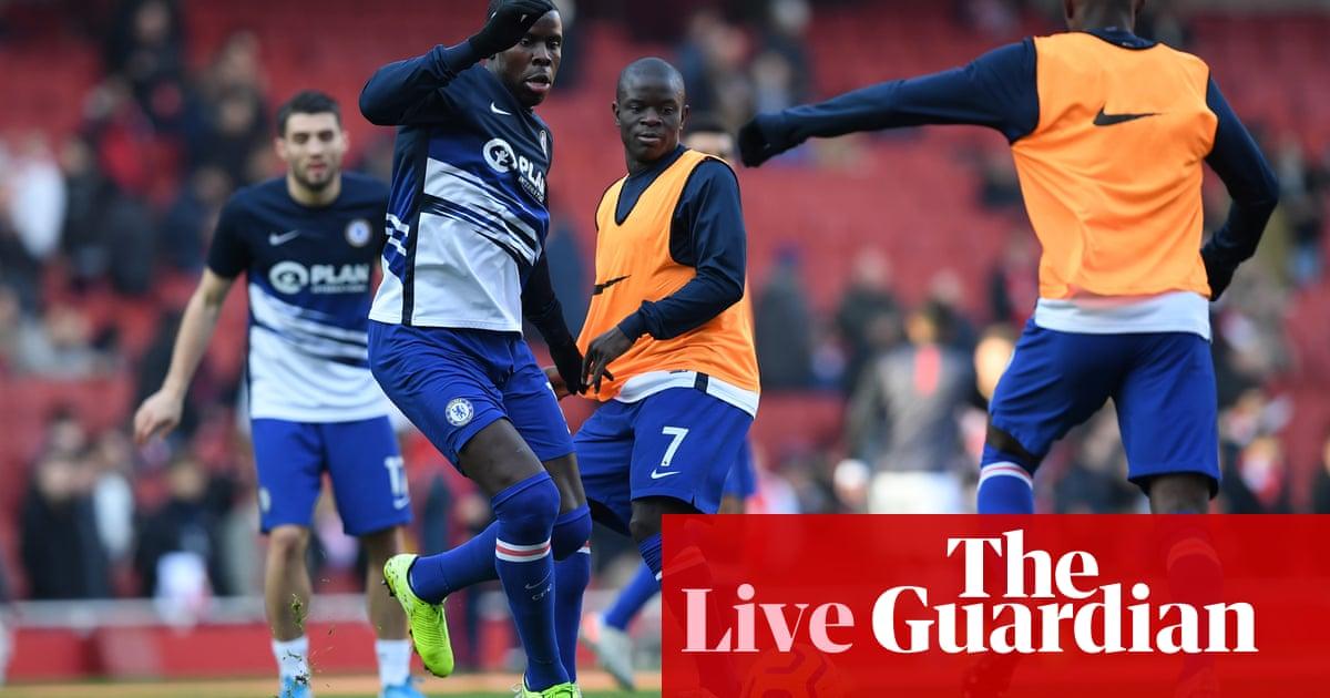 Arsenal v Chelsea: Premier League – live!