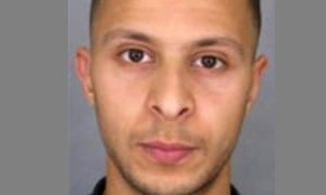 Abdeslam Salah, suspected of being involved in the Paris attacks