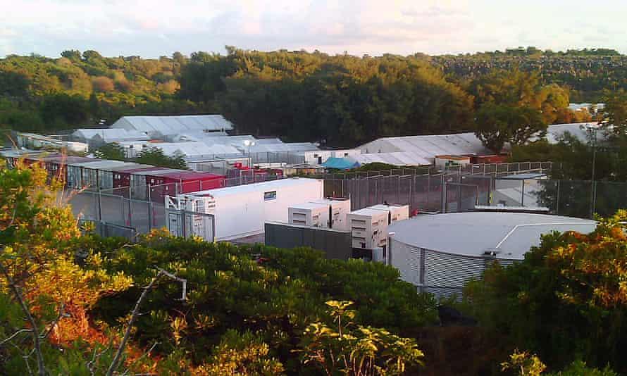 Generators at the Australian-run immigration detention centre on Nauru.