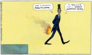 Steve Bell 06.11.19 cartoon