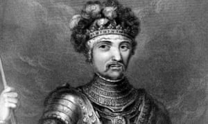 Obsessed with sin … Edward of Woodstock, the Black Prince.